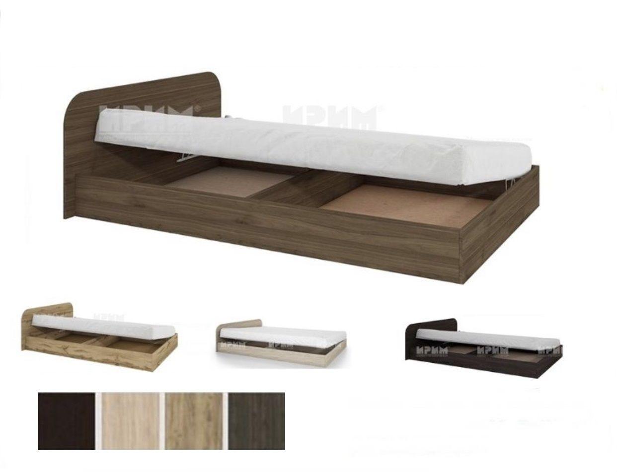 Легло с повдигащ механизъм Сити 2011 – 120X190 в 6 цвята