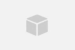 Комплект метална маса KUBO с 2 стола LOT в червено